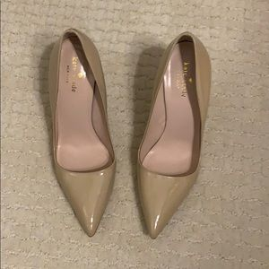 Kate Spade Licorice Patent Pumps